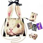 พร้อมส่งจ้า wow wow Muchacha Ahcahcum rabbit chain bag