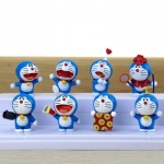 [Preorder] โมเดลโดเรมอน 8 แบบน่ารัก (ไม่มีฐาน) models duo a dream doll ornaments hand to do the 35th anniversary of the seal of the scene Doraemon Doraemon Toys and Gifts