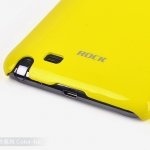 Case SS Galaxy note/i9220 Rock Color-ful แท้ (Hard Case) เรียบง่ายสไตล์ Classic  ผิวเคลือบมันอย่างดีไม่เป็นลอยง่าย เบาสบาย