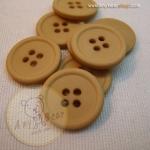 กระดุมขนาดเส้นผ่านศูนย์กลาง 20 mm. - brown