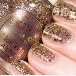 Skinfood Nail Vita Alpha Sparkling Wine #AGL16 Gold