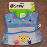 ผ้ากันเปื้อนเด็ก เสื้อกันเปื้อนเด็ก Sassy