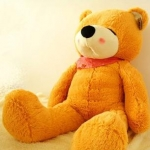 ตุ๊กตาหมีหลับ ตัวใหญ่ ขนาด 1.2 เมตร สีน้ำตาลอ่อน