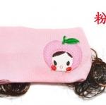 -พร้อมส่ง- ผ้าคาดผมเด็ก มีปอยผม ประดับแอ๊ปเปิ้ล สไตล์เกาหลี ขนาด ฟรีไซด์ ( 5 เดือน- 3ปี) สีชมพูอ่อน มีสีเดียวค่ะ