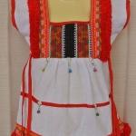 ขาว ชุดกระโปรงเด็กหญิงสไตล์เชียงใหม่น่ารักมาก (size S-XL ไม่ต้องเผื่อ size นะคะ ชุดมีกระดุมหลังค่ะ ถ้าเผื่อ เผื่อแค่ 4-5 ซม.พอค่ะ)