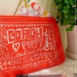 ได้มาใบเดียวเลยจ้า กระเป๋าซองซิปสีแดง coach poppy จากนิตยสาร more