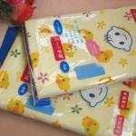 ผ้ารองนอนซับฉี่ หรือผ้าปูเตียงซับฉี่ ลายลูกเจี๊ยบน่ารัก Nishimatsuya