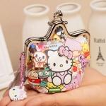 [Preorder] กระเป๋าใส่เหรียญ Hello Kitty แบบที่ 8 (2 ใบ/แพ็ค คละแบบได้) Korean Japanese hello kitty purse Korean cute cartoon fashion ladies bag change clip coins