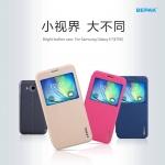 เคสหนังฝาพับ ตั้งได้ Samsung Galaxy E7 ยี่ห้อ BEPAK Standing Leather