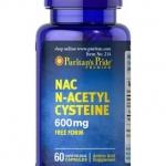 N-Acetyl Cysteine (NAC) 600 mg 60 Capsules