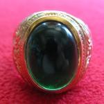 สินค้าหมดค่ะ แหวนพลอยมณีใต้น้ำ(เพชรพญานาค)สีเขียวเนื้อทองเหลือง(ทุกราศี)ค่ะ