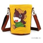 [Preorder] กระเป๋าสะพายข้างลายสัตว์ประจำปีนักษัตร ลายม้า (ปีมะเมีย) North bag 2013 Korean version of the original cartoon Zodiac constellation pattern leisure Shoulder Messenger bag