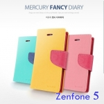 เคสไดอารี่ Asus Zenfone 5 รุ่น Mercury Fancy Diary