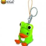 พวงกุญแจ B.Duck ชุดกบ