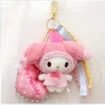 My Melody Vivitix Plush charm key chain