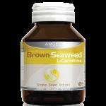 แอมเซล แอล-คาร์นิทีน สารสกัดสาหร่ายสีน้ำตาล สารสกัดจากเมล็กองุ่น Amsel L-Carnitine Brown seaweed and Grape seed extract