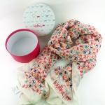 (preorder มกราคม 58) Kipling scarf/ shawl + gift box ลายน้องลิงค่ะ