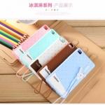 เคสซิลิโคนนิ่ม รูปไอศครีม Huawei P8 (แถมฟรี .. สายคล้องสุดน่ารัก)