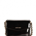 MNG PATENT CROSS BODY BAG
