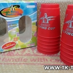 แก้วสแต็ค (ไซส์ใหญ่) Magic Flying Cup JUMBO[RED]