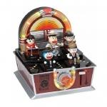 [Preorder] กล่องดนตรีมิวสิคโดเรม่อนเครื่องดนตรีเก๋ๆ Viking duo a dream jingle music box music box 2 generation family portrait boxed doll