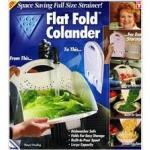 ลดราคาสุด ๆ ตะกร้าล้างผัก Flat Fold Colander (สีขาว) ราคาพิเศษจริงๆ search google ดูได้เลย ถูกสุดๆ )