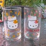 แก้วน้ำ Hello Kitty set 2 ใบ