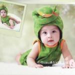 ชุดแฟนซีงูน้อย มีหมวก เสื้อกางเกง ชุดแฟนซีใส่ถ่ายรูป (Free size 3 เดือน - 1 ปี)