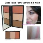 SLEEK Face Form Contour Kit สี FAIR แป้งแบบ 3in1 (คอนทัวร์,ไฮไลท์,บลัช) สำหรับการตกแต่งที่ให้ออกมาดูสมบูรณ์แบบเน้นปรับแต่งโครงหน้าให้โดดเด่นยิ่งขึ้น
