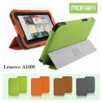เคสหนังฝาพับ Lenovo A1000 ยี่ห้อ MOFi Leather Slim