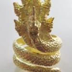แหวนพญานาค7เศียรเนื้อทองเหลือง เสริมอำนาจ คุ้มครองค่ะ