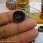 กระดุมเหล็กขนาดเส้นผ่านศูนย์กลาง 15 mm.