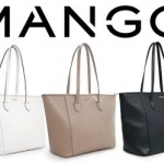 (Preorder) MNG touch saffiano effect shopper bag