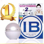 GNS Korea IB Snow White Cream 50g ผลิตภัณฑ์บำรุงผิวหน้า นวัตกรรมใหม่จากประเทศเกาหลี เป็นทั้งไวท์เทนนิ่งครีม อายครีม และบีบีครีมใน 1 เดียว ลดราคา 50%