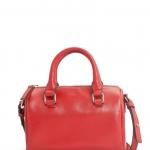 พร้อมส่งนะคะ MNG touch small bowling bag สีแดงอิฐ