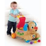 สุดคุ้ม :) น้องเล่นได้ พี่เล่นดี เป็นทั้งขาไถ ผลักเดิน Laugh & Learn® Stride-to-Ride® Puppy