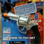 ปืนแก็ปเหล็ก DIE-CAST MAGNUM SHOT CAPS GUN