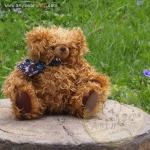 ตุ๊กตาหมีผ้าขนหยิกขนาด 25 cm. - Bagel