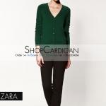 """Zara Big size- เสื้อคลุมแขนยาวZara สีเขียวขี้ม้า ผ้านิ่มมากกก อันนี้ นำเสนอ จ้า สวยใส่สบาย อก 34-36"""" ยาว 26"""" (เสื้อคลุมพร้อมส่ง)"""