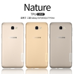 เคสยางนิ่ม บางเฉียบ Samsung J7 Prime ยี่ห้อ Nillkin รุ่น Nature TPU Case