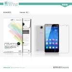 ฟิล์มกันรอยชนิดใส Huawei Honor 3C เกรดพรีเมี่ยม ยี่ห้อ NILLKIN