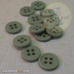กระดุมขนาดเส้นผ่านศูนย์กลาง 11 mm. - Mint Green Light