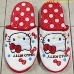 รองเท้าใส่เดินในบ้าน ลาย คิตตี้ Hello Kitty