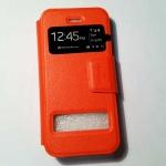 เคสซัมซุงโน๊ต 3 แบบฝาพับ สีส้ม
