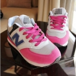 [Preorder] รองเท้าผ้าใบ N สีชมพู Korean wild shoes running shoes breathable couple N Aberdeen male Korean fashion sneakers shoes singles shoes N word