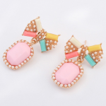 พร้อมส่งจ้า candy crush spring pastel earring