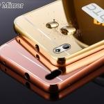 Luxury Mirror Case สำหรับ HTC One 2 - M8