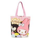 พร้อมส่งนะคะ my melody canvas outing tote bag macaroon