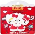 พร้อมส่งค่ะ Magnet ติดตู้เย็น Sanrio 40th Anniversary Kitty&Mimmy