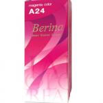 Berina เบอริน่า ครีมย้อมผม A24 สีบานเย็น